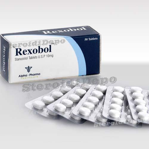 Rexobol (Винстрол) Alpha Pharma