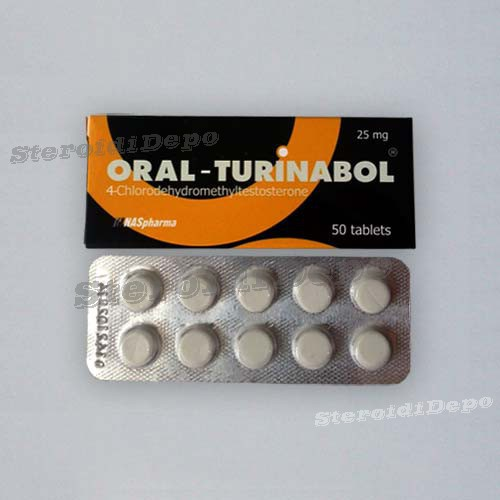 Oral Turinabol (Туринабол) Naspharma