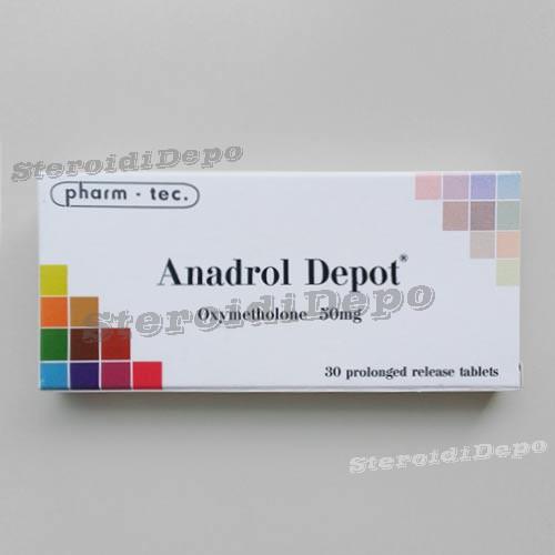 Anadrol Depot (Анаполон) Pharm-tec