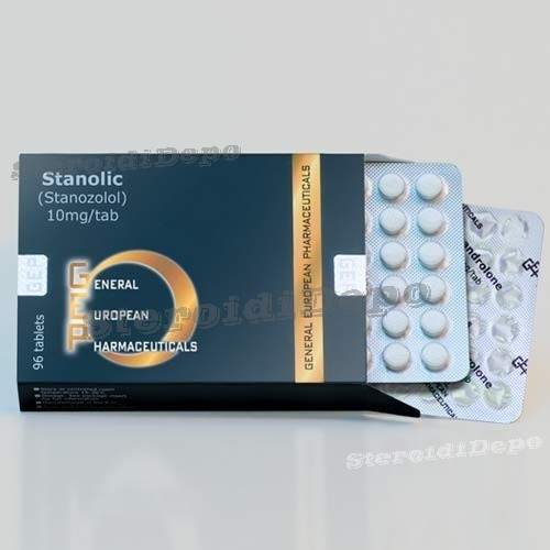 Stanolic (Стромба хапчета / Станозолол) GEP