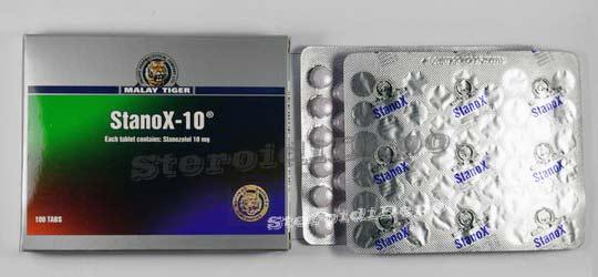 Винстрол на таблетки (Стромба) Малай Тайгър цена!