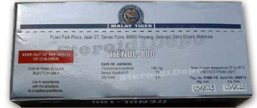 Trenol-100 cena - Тренболон / Параболан Malay tiger цена!